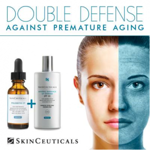 Skinceuticals double defense graphic